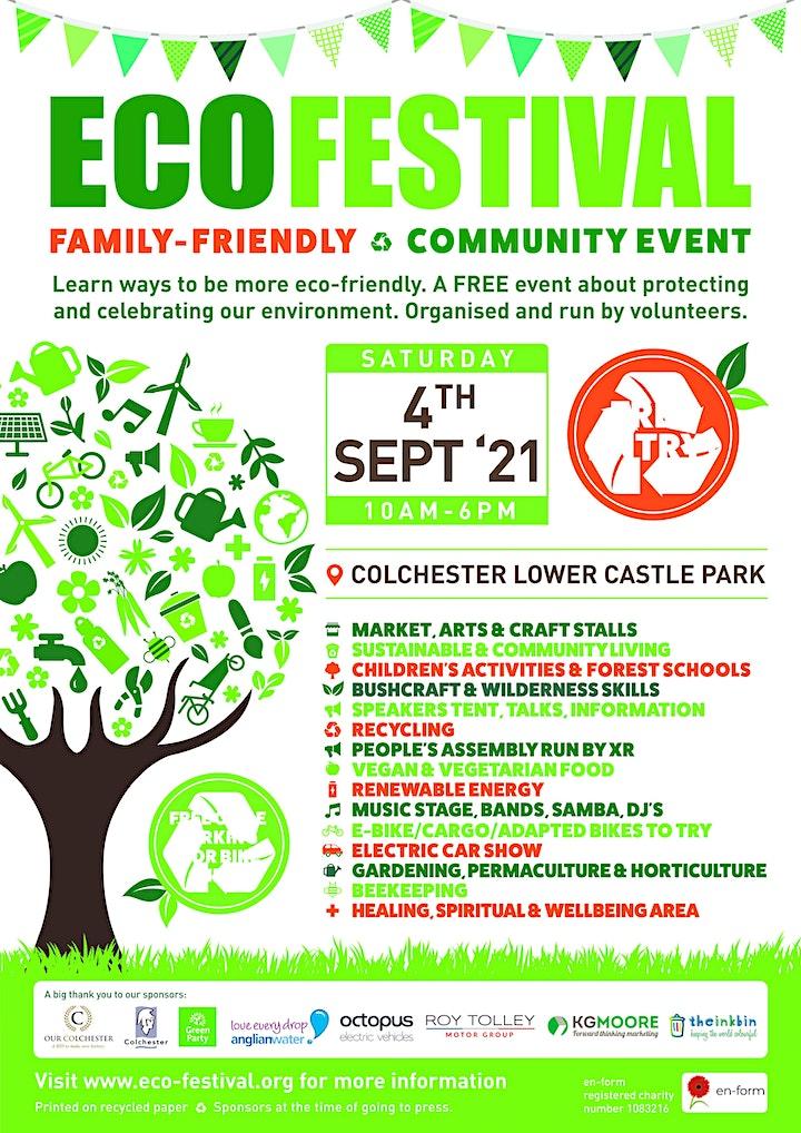 Eco Festival Colchester 2021 image