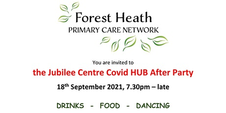 Jubilee Centre Covid HUB After Party tickets