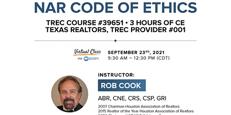 NAR Code of Ethics tickets