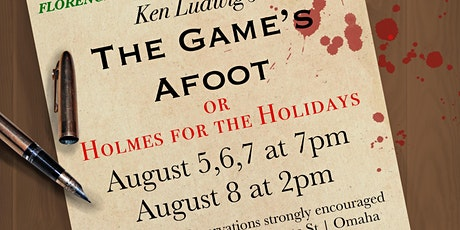 The Game's Afoot  or Holmes for the Holidays tickets