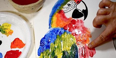 School Holiday Workshop - Animal Mark Making for Kids tickets