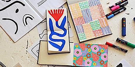 School Holiday Workshop - Creative Journalling for Teens tickets