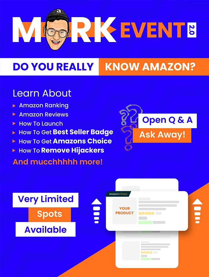 MarkEvent 2.0- How well do you know Amazon? image
