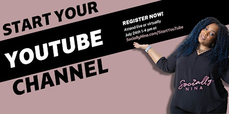 YouTube for Business: How to Start a YouTube Channel (ONLINE) tickets