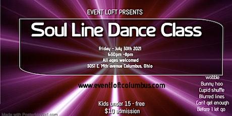 Soul Line Dance Event tickets
