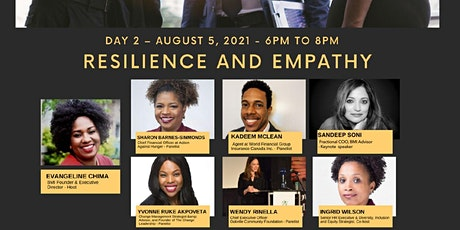 """Day 2 Lets Talk Mentorship –August 5, 2021 """"Resilience and Empathy"""" tickets"""