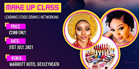 DIY Make up Class (Learning | Food | Drinks | Networking tickets