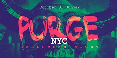 Purge Rooftop Halloween Party tickets