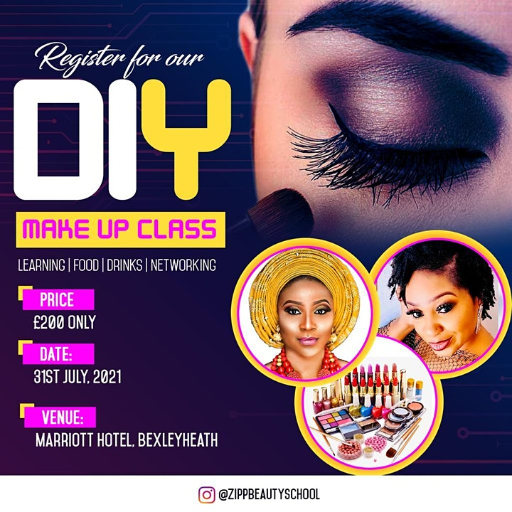 DIY Make up Class (Learning | Food | Drinks | Networking image