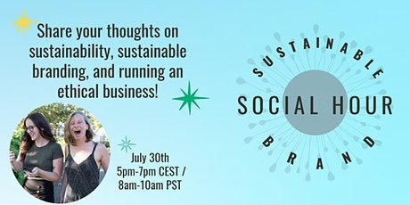 Sustainable Brand Social Hour tickets