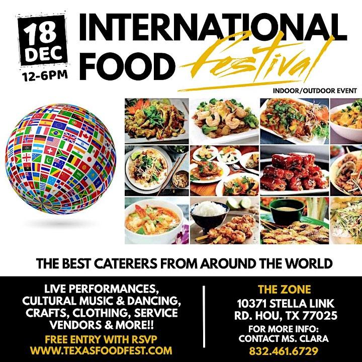 International Food Fest Houston Tx image
