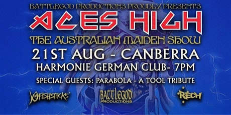 Aces High – The Australian Maiden Show tickets