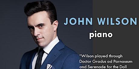 American Mavericks:  John Wilson, piano tickets