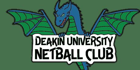 Deakin University Netball Club Trivia Night tickets