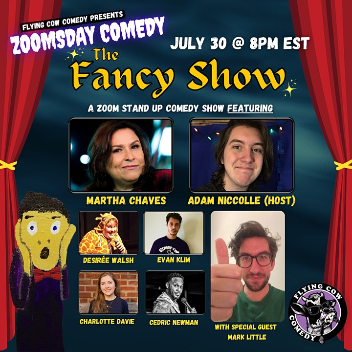ZOOMSDAY COMEDY: THE FANCY SHOW #2 image