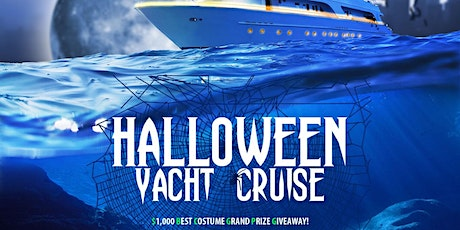 HALLOWEEN YACHT PARTY CRUISE tickets