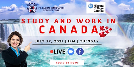 FREE WEBINAR: STUDY AND WORK IN CANADA tickets