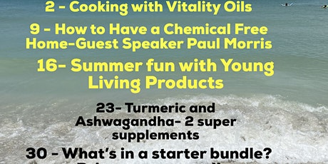 Zoom Essential Oils Education! tickets