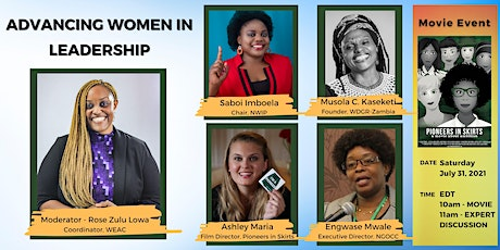 Advancing Women in Leadership Movie Event tickets