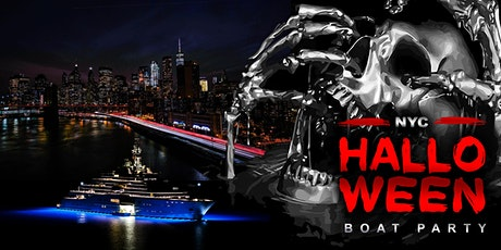 NYC HALLOWEEN BOAT PARTY CRUISE  NEW YORK CITY VIEWS  OF STATUE OF tickets