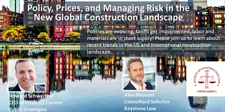 Policy, Prices, and Managing Risk in the New Global Construction Landscape tickets