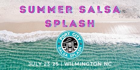 SUMMER SALSA SPLASH  July 23-25 tickets