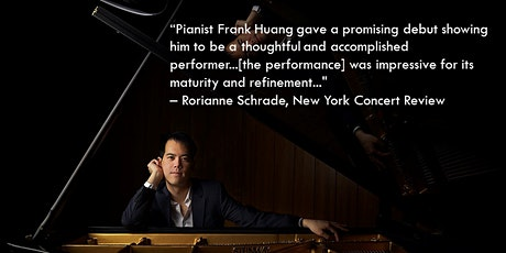 Frank Huang, piano tickets