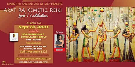 Arat RA Kemetic Reiki Level 1 Certification tickets