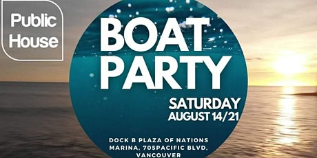 Public  House Boat Party tickets