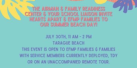 Hearts Apart & EFMP Summer Beach Day tickets