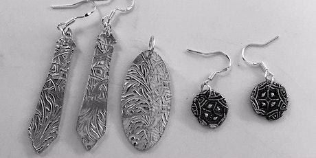 Fine Silver Earring workshop tickets