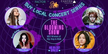 STAR Pow-R 'Buy Local' Concert Series - The Blooming Show tickets