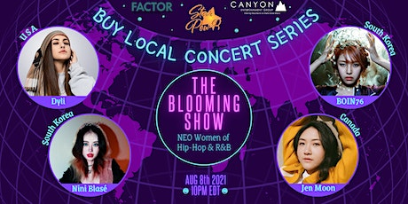 STAR Pow-R 'Buy Local' Concert Series - The Blooming Show- Donation tickets