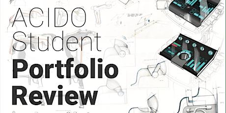 Student Portfolio Review tickets