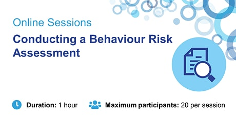Conducting a Behaviour Risk Assessment – Head of Special Education Services tickets