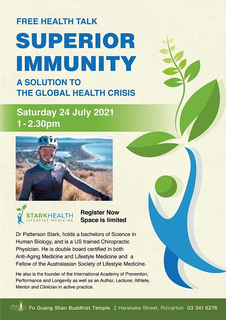 Free Health Talk: Superior Immunity image