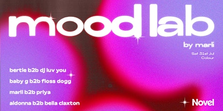 Mood Lab by Marli tickets