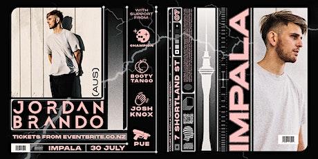 Collekt & Impala Present: Jordan Brando (AUS) 30.07.21 tickets