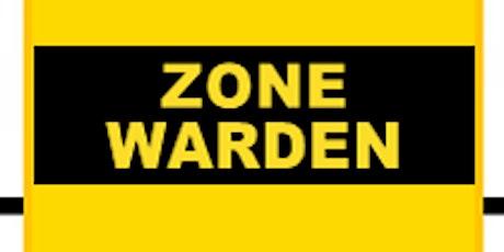 RCH -  Zone Warden Training tickets