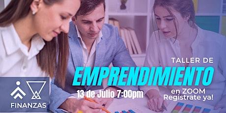 Taller de Emprendedurismo - Punto Reino entradas