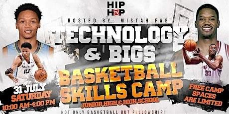 Antonio Davis & Ivan Rabb Technology and Bigs Basketball Skills Camp tickets