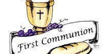 St. Cecilia Parish 2021 First Communion Mass tickets