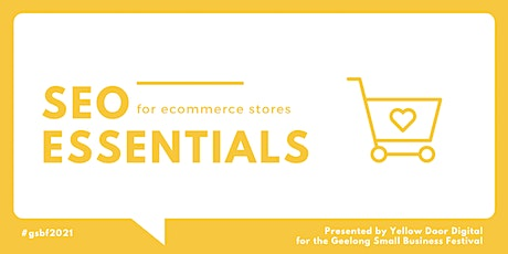SEO Essentials for eCommerce stores tickets