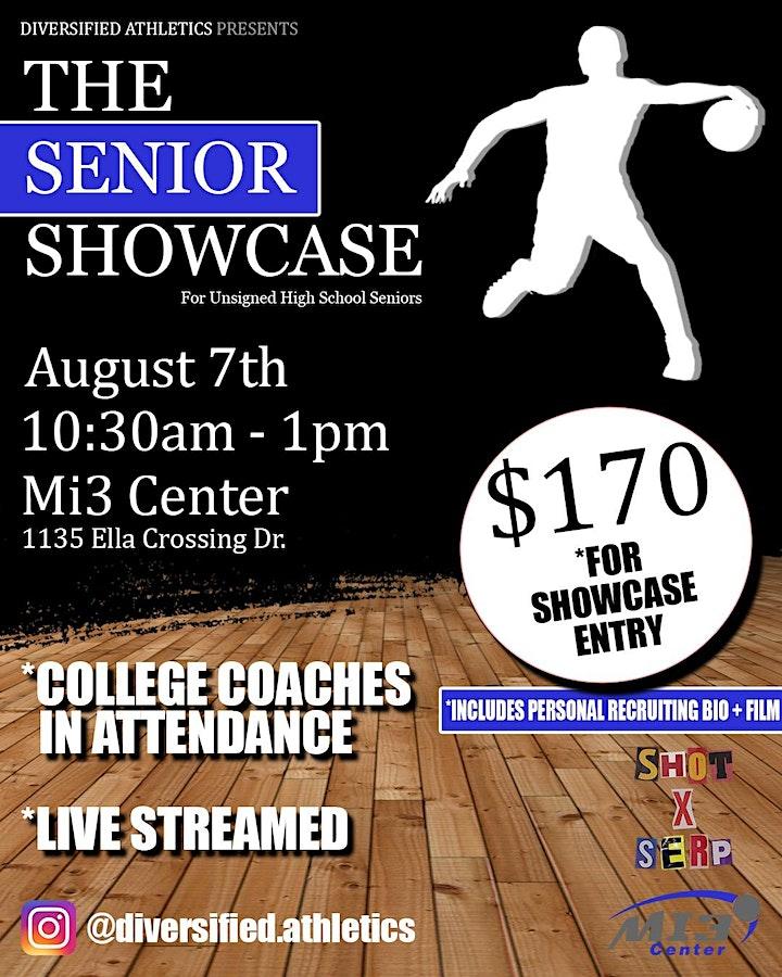 Basketball Showcase for unsigned high school seniors image