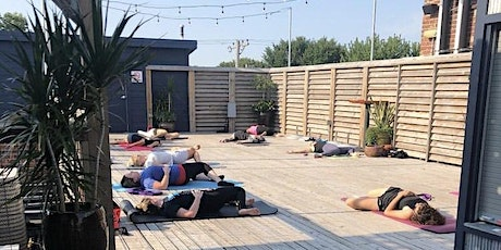 Rooftop Yoga &  a Beer tickets