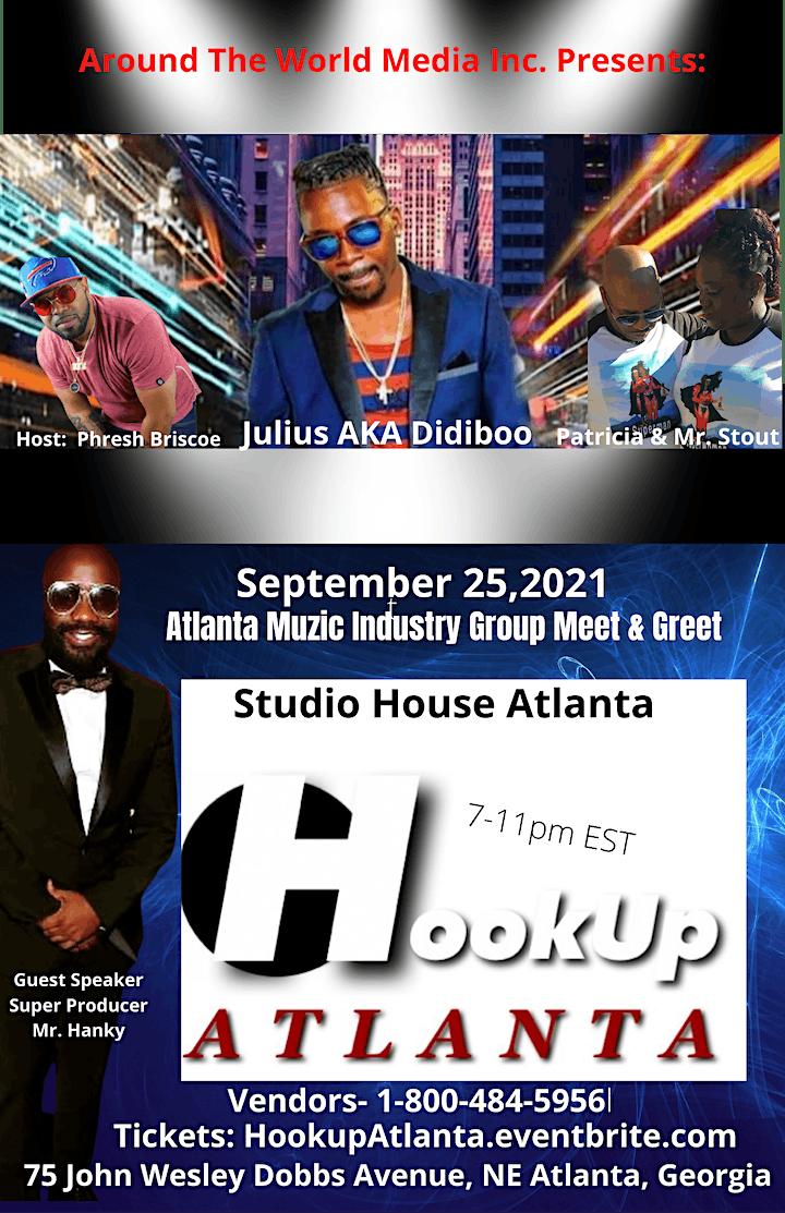 Hook Up Atlanta- Atlanta Muzic Industry Music Conference image