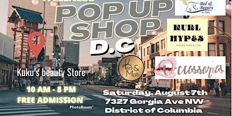 SUMMER POP-UP SHOP tickets
