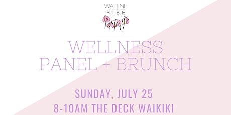 Wahine Rise   Wellness Panel + Brunch tickets