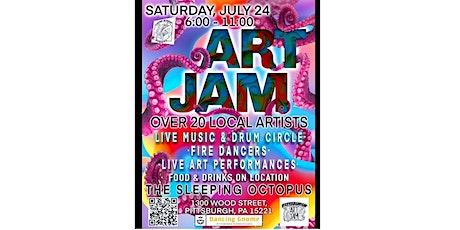 Pittsburgh Art Jam / Full Moon Summer Celebration tickets
