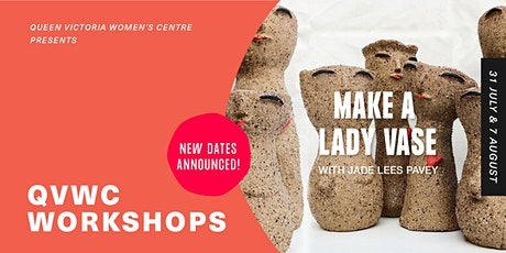 QVWC Workshops: Make a lady vase with Jade Lees Pavey tickets